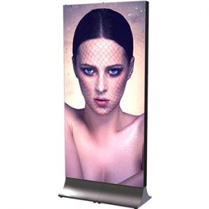 Totem LED display 1 x 2m