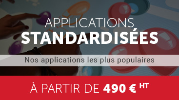 applications tactiles standardisées