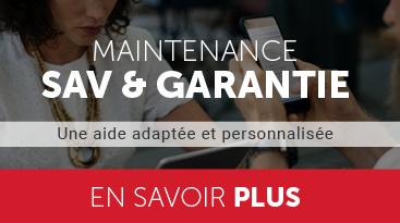 maintenance SAV et garantie
