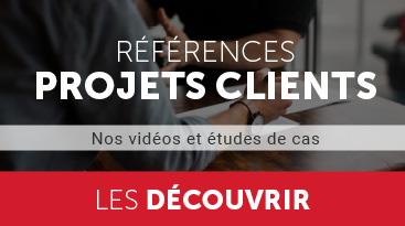 références projets clients