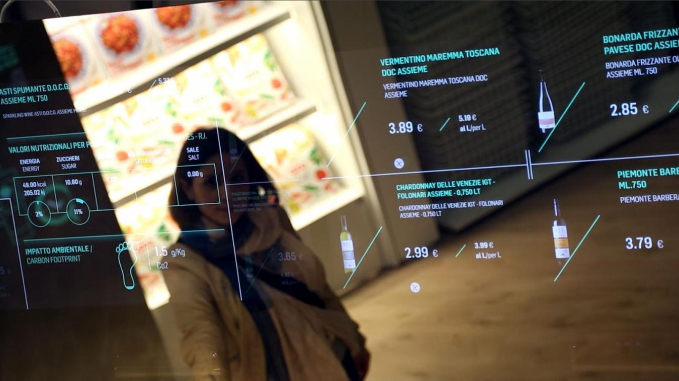 vitrine digitale digitalisation retail 2020