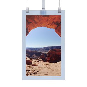 Ecran OLED 55 pouces suspendu In Glass HD