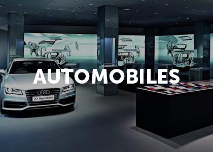 Moodbard projet digital automobiles