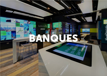 Moodbard projet digital banques
