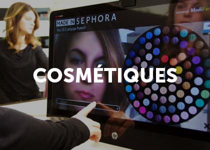 Moodbard projet digital cosmétiques