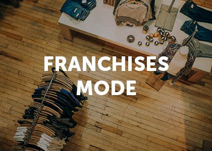 Moodboard projet digital franchises mode