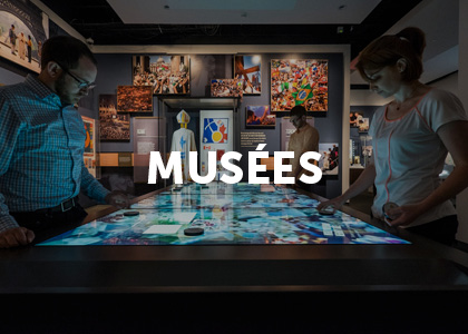 Moodbard projet digital musées