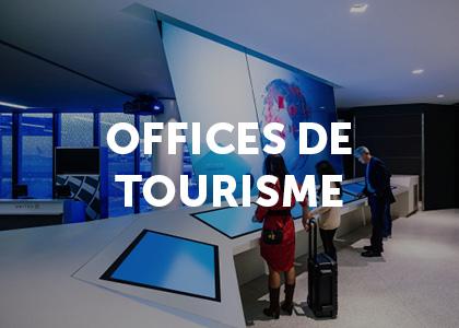 Moodbard projet digital offices de tourisme