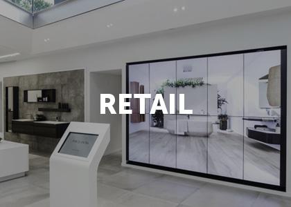 Moodbard projet digital retail