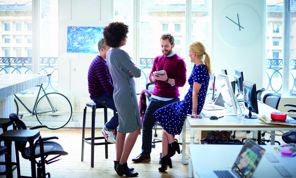 réunion collaborative entreprise digitalisation