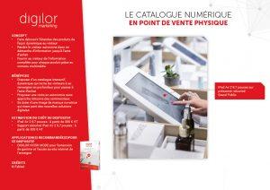 Le catalogue numérique en point de vente physique