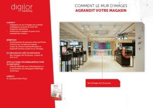 Comment le mur d'images agrandit votre magasin
