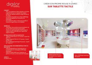 Créer son propre rouge à lèvres sur tablette tactile