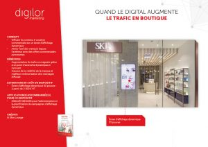 Quand le digital augmente le trafic en boutique