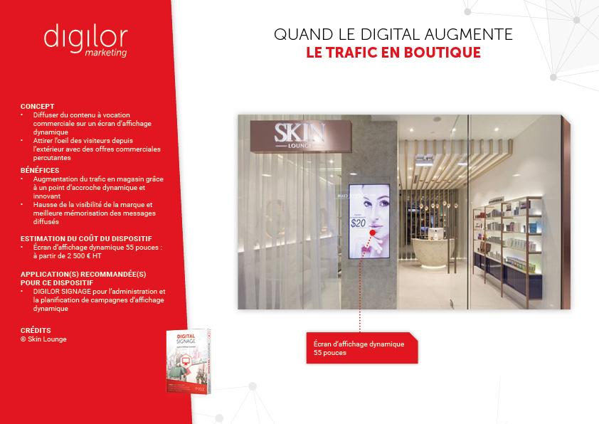 Quand le digital augmente le trafic en boutique