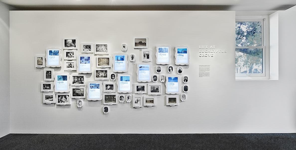 mur d'images asymétrique élégance et dynamisme office de tourisme digital