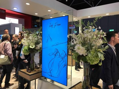 Ecran OLED In Glass 55 pouces ISE
