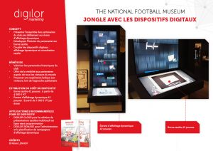 The National Football Museum jongle avec les dispositifs digitaux