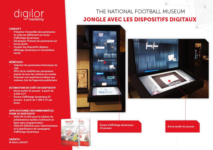 The National Football Museum jongle avec les dispositifs digitaux