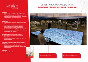 Visiter Paris grâce aux dispositifs digitaux du Pavillon de l'Arsenal