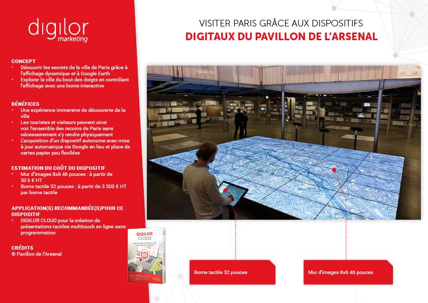 Visiter Paris Grace Aux Dispositifs Digitaux Du Pavillon De LArsenal