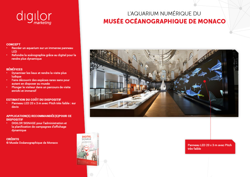 L'aquarium numérique du Musée Océanographique de Monaco