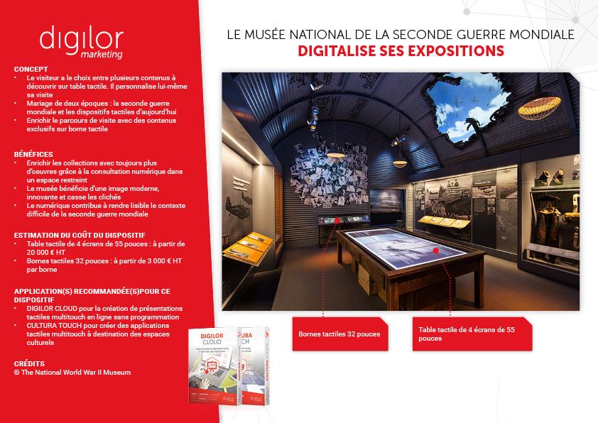 Le musée national de la Seconde Guerre Mondiale digitalise ses expositions