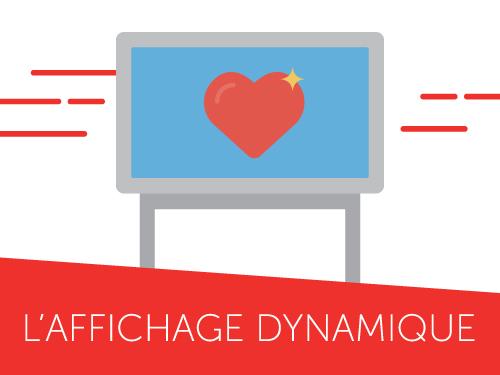 Infographie comprendre l'affichage dynamique