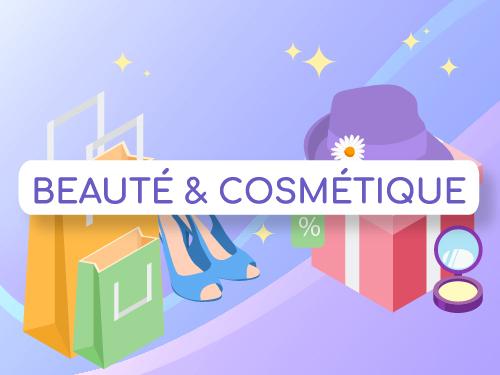 Infographie digitalisation du secteur cosmétique