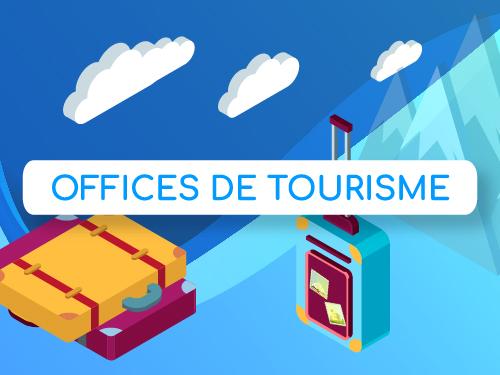 Infographie digitalisation des Offices de Tourisme