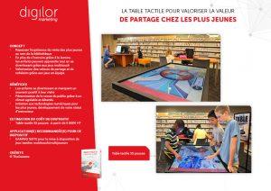 jeux interactifs sur dispositifs tactiles pour enrichir visite du public en bibliothèque