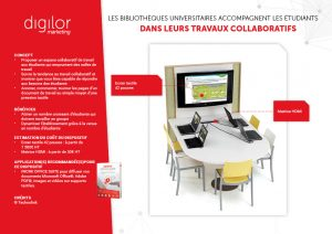 travail collaboratif ecran tactile