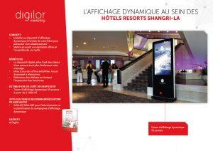enrichir presentation offre grâce totem affichage dynamique