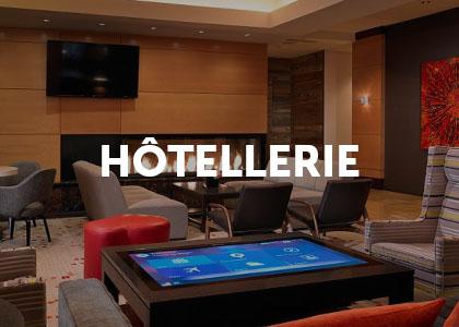 moodboard projet digital hotellerie