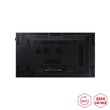 Ecran haute luminosité SAMSUNG OM46 connectiques