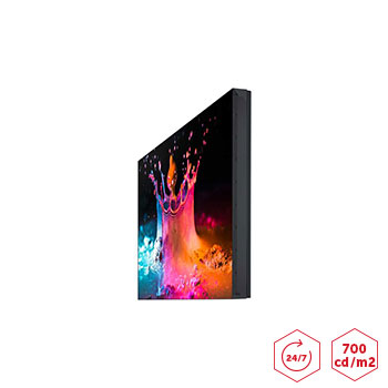 Ecran pour mur d'images SAMSUNG UD46EA 700cd/m2 vitrine