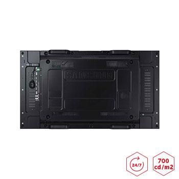 Ecran pour mur d'images SAMSUNG UD46EA 700cd/m2 connectiques