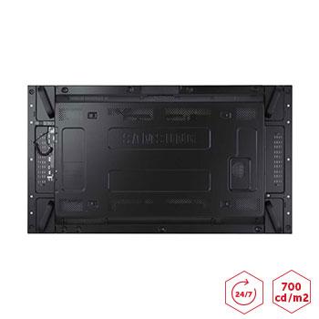 Ecran pour mur d'images SAMSUNG UD55EA 700 cd/m2