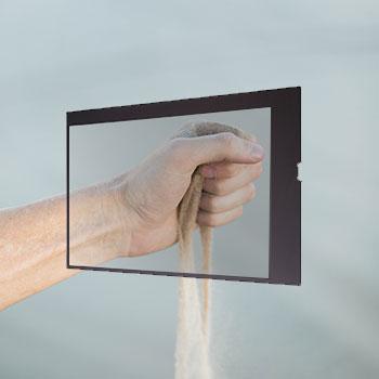 Kit écran transparent 49 pouces LG 49WFB vitrine