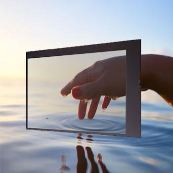 Kit écran transparent 55 pouces LG 55WFB objet connecté