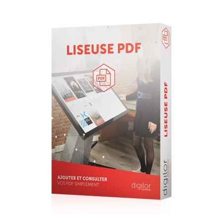 application interactive liseuse pdf