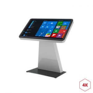 Borne interactive 4K 55 pouces digitale