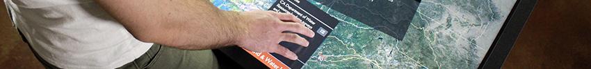 Ecran tactile Android 15 pouces PRODVX application multitouch