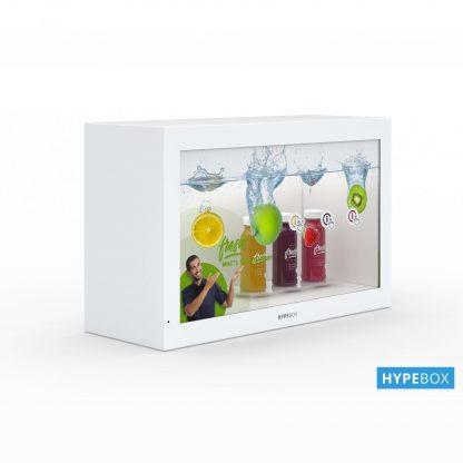 Ecran transparent Hypebox 32 pouces perspective