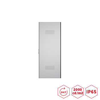 Totem d 39 affichage dynamique ext rieur 32 pouces 2000 cdm2 for Ecran led exterieur prix