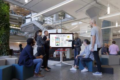 Google Jamboard réunion