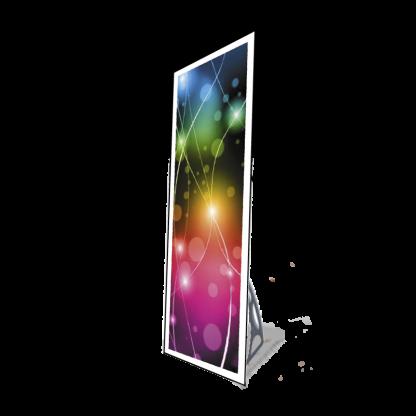 Panneau LED mural support portatif