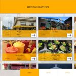 Pau application tactile restauration lieux