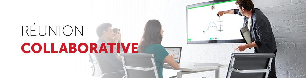 Gamme dispositifs interactifs pour réunion collaborative