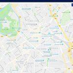 Saint Didier Mont d'Or application tactile plan interactif